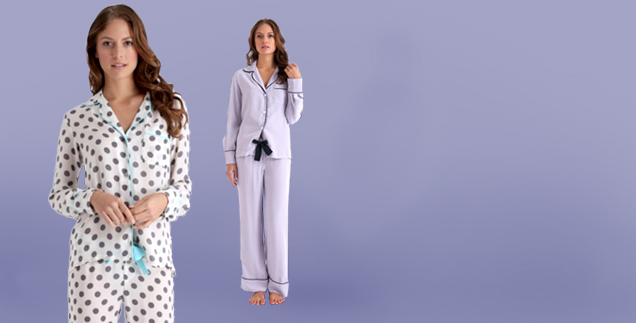 Silk-nightwear