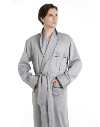 Silver Finesse Robe
