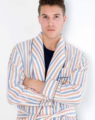 Multi Striped Classic Robe