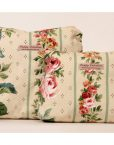 PEACH FLORAL POPPY VALENTINE WASHBAG AND COSMETIC MAKE UP BAG GIFT SET-2