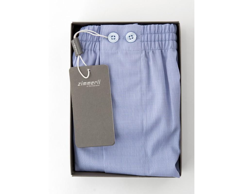bebf99fa4e Zimmerli BOXER SHORTS IN BLUE - The Pyjama Store