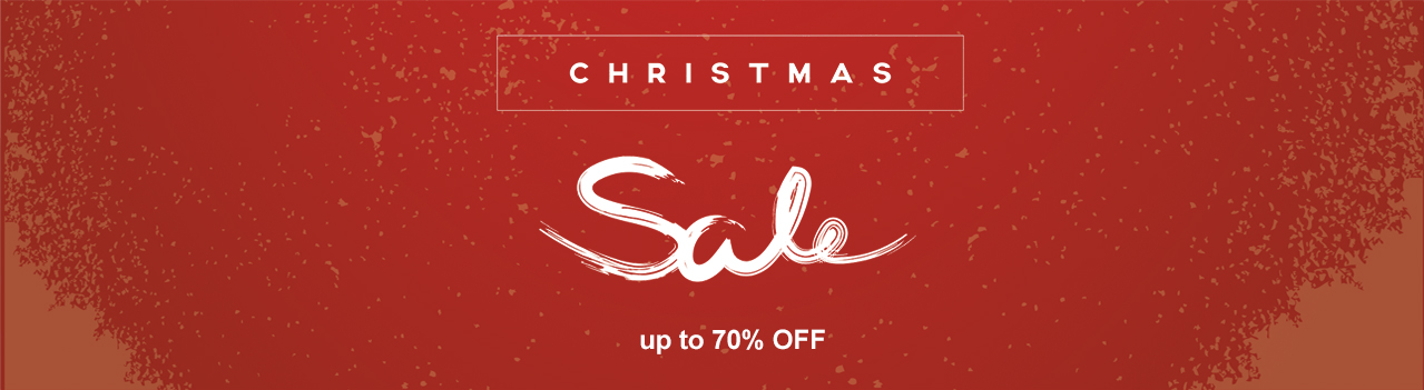 Christmas Sale - Up to 70% OFF