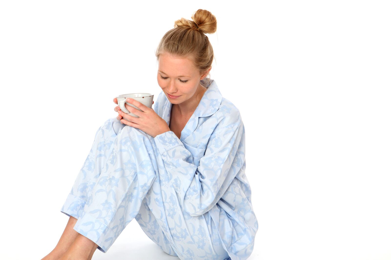 Hot chocolate and Bonsoir Pyjamas