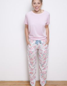 Olivia Knit Top and Pants Pyjama Set