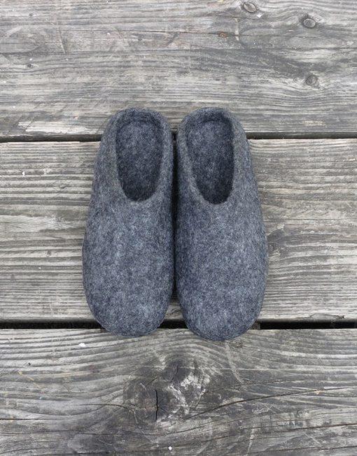 MIta Slippers Dark Grey