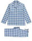 Tartan Brushed Cotton Pyjamas Cara