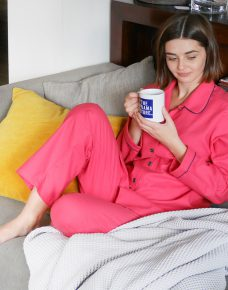Women's Fuchsia Red Jim Jams