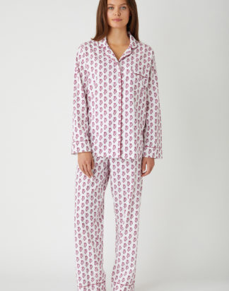 Berry Paisley Pyjamas
